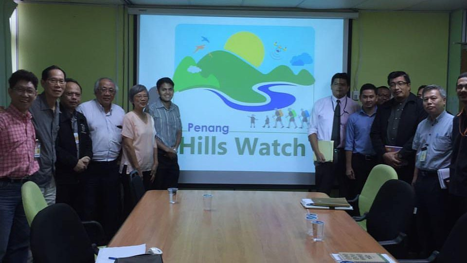 Penang Hills Watch Meets with Local Government Departments