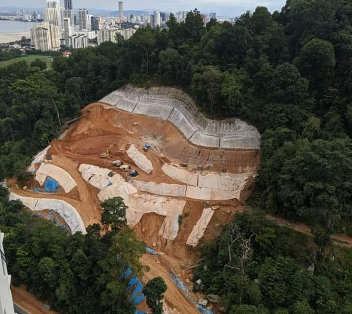 Press Statement by Penang Hills Watch (PHW) on the earthworks on the Mount Erskine slope